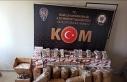 Aydın'da 'kaçak tütün' operasyonu:...