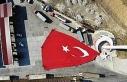 Bu gurur Samsun'un: Türkiye'nin en büyük bayrağını...