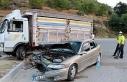Burdur'da otomobille kamyonet çarpıştı: 5...