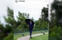 Cumhurbaşkanı Erdoğan'ın yağmurlu havada...