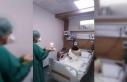 Down sendromlu korona hastasına doğum günü sürprizi