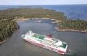 Finlandiya bandıralıyolcu gemisi Baltık Denizi'nde...