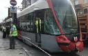 (Geniş haber) Laleli'de tramvay ile otobüs...
