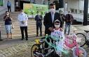 Öğrencilere 'Trafiksiz Çarşamba' ödülü