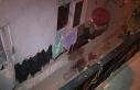 Sultangazi'de bir kişi balkonda oturduğu sırada...