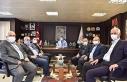 Başkan Bülent Öz, STK Başkanlarıyla aylık olağan...