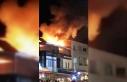 Bodrum'da bir otelin terasında çıkan yangın...