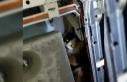Çamaşır makinesinde mahsur kalan kediyi itfaiye...