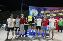 Cumhuriyet Plaj Voleybolu Turnuvasının kazananları...