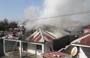 Erzincan'da ev yangını