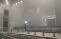 İstanbul'da etkisini gösteren sis kartpostallık...