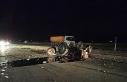 Kamyon traktöre, başka kamyon da sürücüsüne...