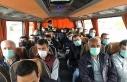 Manisa'da toplu taşıma araçlarında covid-19...