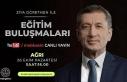Milli Eğitim Bakanı Prof. Dr. Selçuk, Ağrı'daki...