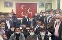 Prof. Dr. Kamil Aydın ilçe ziyaretlerinde çiftçilerle...