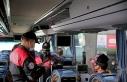 Toplu ulaşım araçlarında korona virüs denetimi