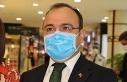 Vali Yırık, maske için teşekkür etti, sosyal...