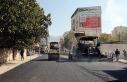 Van Büyükşehir Belediyesinin asfalt çalışması...