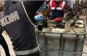 Antalya merkezli 4 ilde 94 bin 500 litre kaçak akaryakıt...