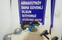 Arnavutköy'de operasyon yapılan evden 1,5 kilo...