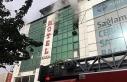 Şanlıurfa'da otelde çıkan yangın devam ediyor
