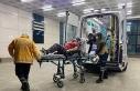 Düzce'de eşi tarafından dövülen kadın hastanelik...