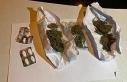 Araçta gizlenen uyuşturucu maddeler Yunus timlerinin...