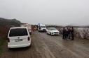 Ayvacık Barajı'na araç düştü iddiası ekipleri...