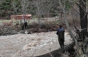 Balıkesir'de köprü yıkılması sonucu mahsur...
