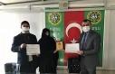 Başarılı yetiştiricilere sertifika verildi