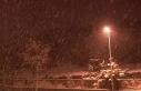 İstanbul'da yoğun kar yağışı devam ederken...