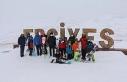 Kabakcı, kayak sporcuları ile bir araya geldi