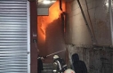 Kağıthane'de oto yıkama merkezinde çıkan yangın...