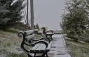 Kırşehir'e yılın ilk karı düştü