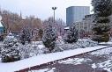 Malatya'da kar yağdı hummalı çalışma başladı