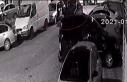 (ÖZEL) MOBESE kameralarının altında 30 saniyede...