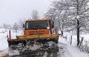 Sakarya'da yüksek kesimlerde karla mücadele başladı
