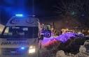 Siirt'te kar yolları kapattı, hasta adam için...