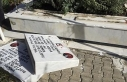 15 Temmuz şehidi ikiz polislerin mezarını tahrip...
