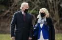 Biden ve First Lady Jill Biden kış fırtınasının...