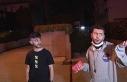 Kadıköy'de kısıtlamayı delip kaza yapan gençlerden...