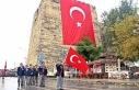 Sinop'ta Kıbrıs gazisi kestiği ağacın altında...