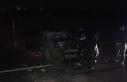 Ters yöne giren otomobil ile servis midibüsü çarpıştı:...