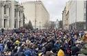 Ukrayna'da aktiviste verilen hapis cezası protestoları...