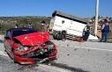 Yatağan'da trafik kazası: 2 yaralı