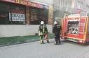 Yoğun duman mahalleliyi panikletti