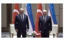 Bakan Çavuşoğlu Özbek mevkidaşı Kamilov ile...