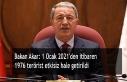 Bakan Akar: 1 Ocak 2021'den itibaren 1976 terörist...