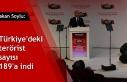 Bakan Soylu: Türkiye'deki terörist sayısı...