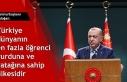 Cumhurbaşkanı Erdoğan: Türkiye dünyanın en fazla...